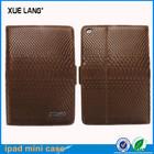 Cute protective leather case for ipad mini 2