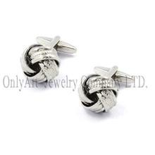 discount fashion knot low MOQ cufflinks