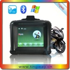 2014 Newest 3.5 INCH TFT Touch Screen Waterproof IP54 GPS Navigator waterproof gps holder motorcycle