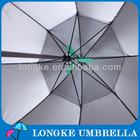 "[LK016]2014 Cool! 23"" radius 8 ribs UV resist fan umbrella with fan"