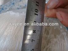 strong knots 100% nylon fishing net linha de pesca multifilamento/ filets de peche en nylon