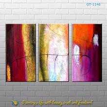 3 panel canvas wall art handmade
