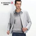 K-boxe primavera do revestimento do revestimento dos homens de negócio magros chinês fabricante de roupas