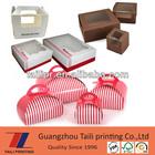 Custom printed cake box bakery box pie box with window, handles