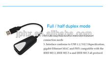 1000Mbps Gigabit Ethernet Network Adapter