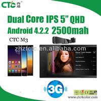 "android 4.2 rom 4g ram 512 ips 5"" inch screen unlocked dual sim smartphone 3g"