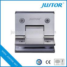 brass high quality bathroom glass door hydraulic hinge JU-W105