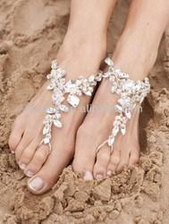 Beach Wedding Foot Jewellery
