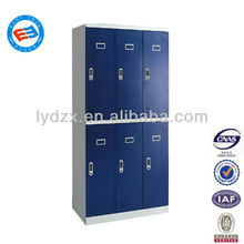 high end 6 door steel locker office furniture dubai