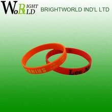 Designer branded silicone usb bracelet promotion gifts