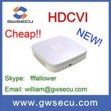 dahua 4 channel 720P Smart mini 1U HDCVI DVR and camera model HCVR5104C/HCVR5108C dahua 8 channel dvr certificate ISO poe