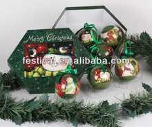 New design decorative plastic christmas ball delicate christmas ball ornaments