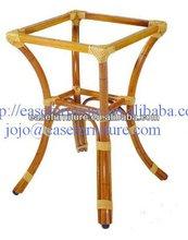 outdoor garden aluminum Bamboo rattan Table Leg E9002