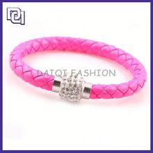 make adjustable leather cord bracelets ,embroidered leather bracelet, leather bracelets 2012