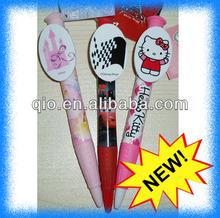 novel jumbo clip ball pen