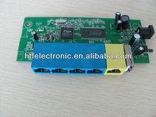 high quality 150M 1 WAN port+4 Mbps LAN port realtek chipset mini dlink linksys wireless wrt54g Router PCBA module