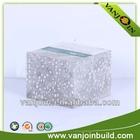 Light weight high strength paintable decorative foam panel wall