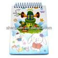 Pequeño cuaderno de espiral para estacionaria/venta al por mayor de conejo encantador patrón mini notebook