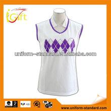 Custom nylon spandex women's athletic apparel manufacturers (W062)