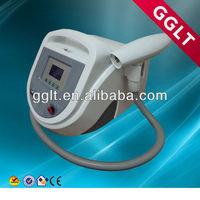 Carbon gel skin rejuvenation laser
