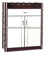 New hot design panel shoe cabinet with 15 mm MDF for sale 800861