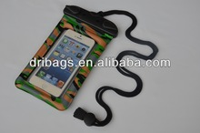 ip67 waterproof protection bag for smartphone