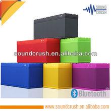 Shenzhen Sound Crush colorful portable bluetooth speaker, outdoor bluetooth speaker with powerful sound