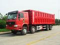 China melhor marca 8 x 4 despejo / tipper caminhões com 12 rodas baixo preço do manufactrure / fábrica