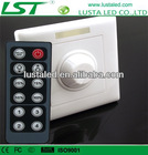 LED Lighting Intelligent Dimming Controller,Input AC90-240V,Remote Controller 12A RF Wireless LED Dimmer