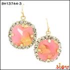 Fashion latest design diamond dangler earrings