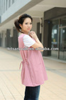 silver fibre and polyester blended maternity clothing,anti- radiation protective maternity clothes