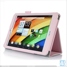 High quality leather case for Acer Iconia A 830, Stand case for Acer Iconia A 830 P-ACE830SPCA002
