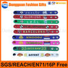 custom soft pvc plastic sports debossed/embossed wristband with world cup gifts