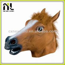 Nova Eco friendly zombie partido de halloween cabeça de cavalo máscaras de carnaval para homens