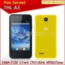 2014 hot sale original THL A3 mtk6572 dual core china low price brand mobile phone