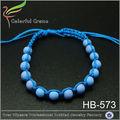 hochwertige wachs schnur armband harz perlenarmband geflochten mode armband