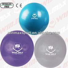 Blue/Purple/Gray Exercise Yoga Ball,Gym Soft Yoga Ball