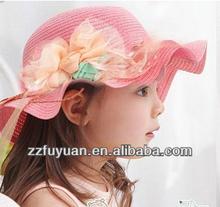 new design Europe hot sale children summer hat&sun helmet