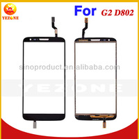 Black Color Touch Screen Digitizer For LG Optimus G2 D802/D805 Touch Panel High Quality with Stock
