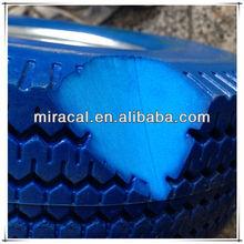 twist plastic rim rubber wheel 3.50-4 High Quality wine cart wheels