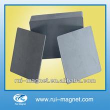 High quality anisotropic block large ferrite magnet