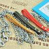 galvanized steel link chain /metal chain dog leash