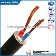450/750V Copper Conductor PVC Insulated PVC Sheath Flexible Electric Wire Price