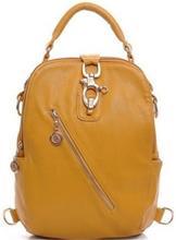 Function School Rucksack For Women Genuine Leather Backpack