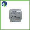 Waterproof and removabel die cut process, custom self adhesive label paper