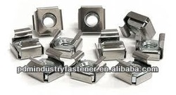 carbon steel white zinc plated cage nuts