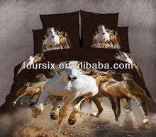 3D animal design 100%cotton reactive twill 3pcs,4pcs,8pcs wholesale bedding set
