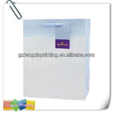 Fashionable Full Color Printing Handbag Shape Store Big Gift Bag