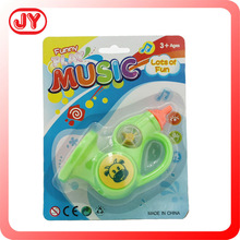 Winding baby toys china wholesale music toys mechanism trumpet play set plastic and EN71