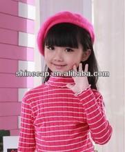 100% Wool kids beret boys beret knitted kids wool hats